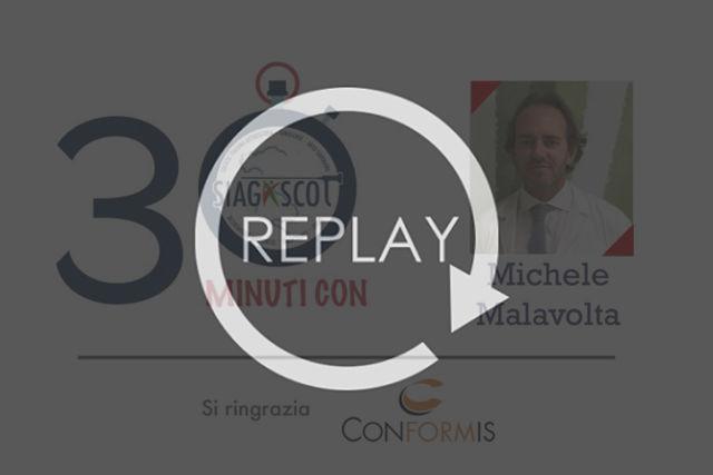 30 minuti con Malavolta 13maggio replay